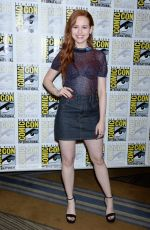 Madelaine Petsch At Riverdale Press Line at Comic-Con in San Diego