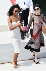 Maisie Richardson-Sellers and Caity Lotz Around Comic Con in San Diego