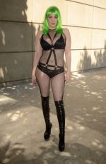 Maitland Ward Attending the Los Angeles Anime Expo at the LA Convention Center
