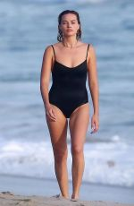 Margot Robbie Spotted taking a swim with her husband Tom Ackerley at the beach in Costa Rica