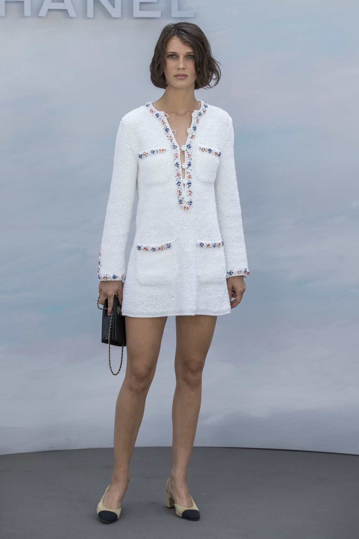 Marine Vacth Attends The Chanel Haute Couture Fall Winter 2018 2019