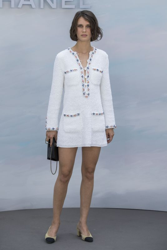 Marine Vacth Attends the Chanel Haute Couture Fall Winter 2018/2019 show as part of Paris Fashion Week