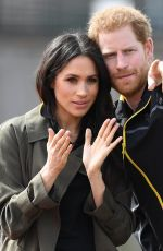Meghan Markle & Prince Harry Attend the UK team trials for the Invictus Games Sydney in Bath