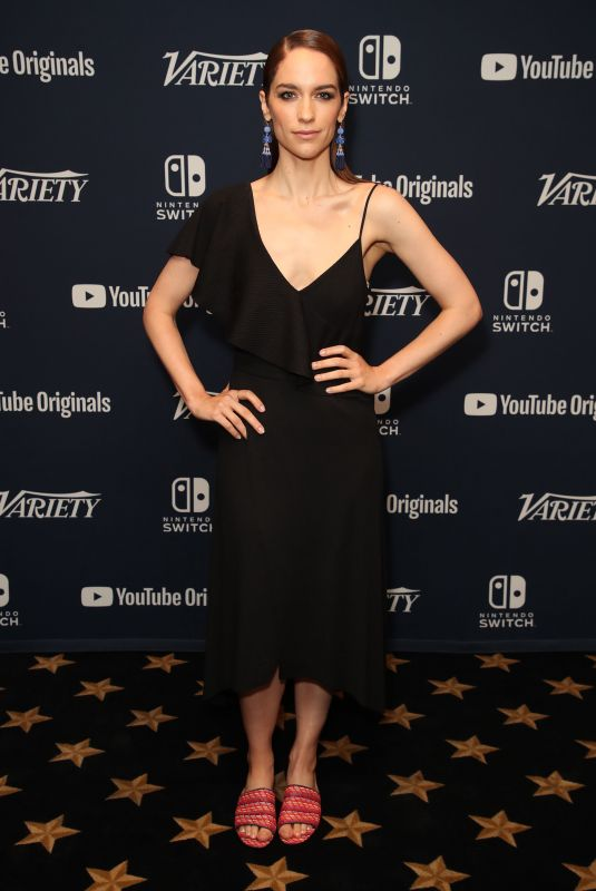 Melanie Scrofano At Variety Studio Comic-Con, Day 2, San Diego