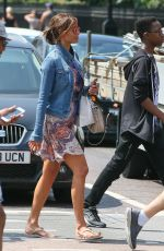 Melanie Sykes Out and about in London