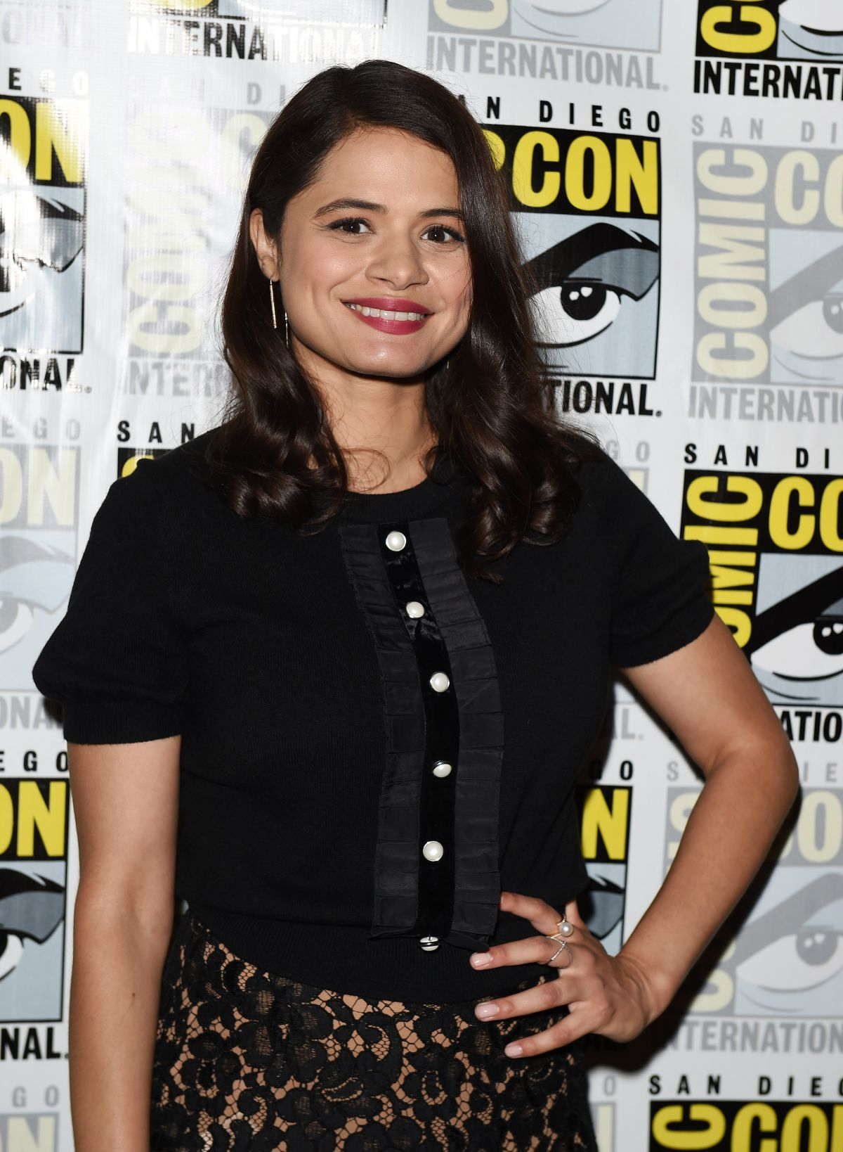 Melonie Diaz At 'Charmed' TV show photocall, Comic-Con