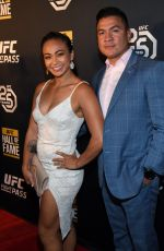 Michelle Waterson Arrives at the UFC Hall of Fame