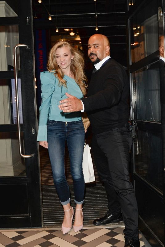 Natalie Dormer At Picturehouse Central in London