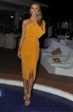 Nina Senicar At Ischia Global Festival Andrea Boccelli Humanitarian Awards gala dinner held at Punta Molino, Ischia, Italy