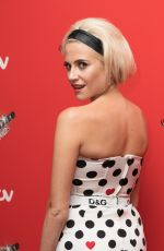 Pixie Lott At The Voice Kids Photocall at Madam Tussauds in London