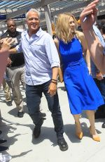 Rhea Seehorn and Patrick Fabian greets fans at Comic Con in San Diego