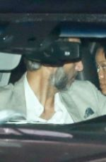 Rihanna Dining at Nobu before hopping into a balloon filled ride to the hospital in Malibu