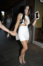 Rosie Williams Pictured During a Night Out In Manchester