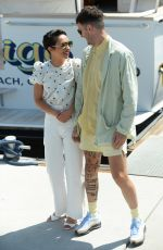 Ruth Negga Out during day 2 of Comic-Con in San Diego