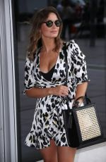Sam Faiers Leaving Park Plaza Westminster Hotel in London