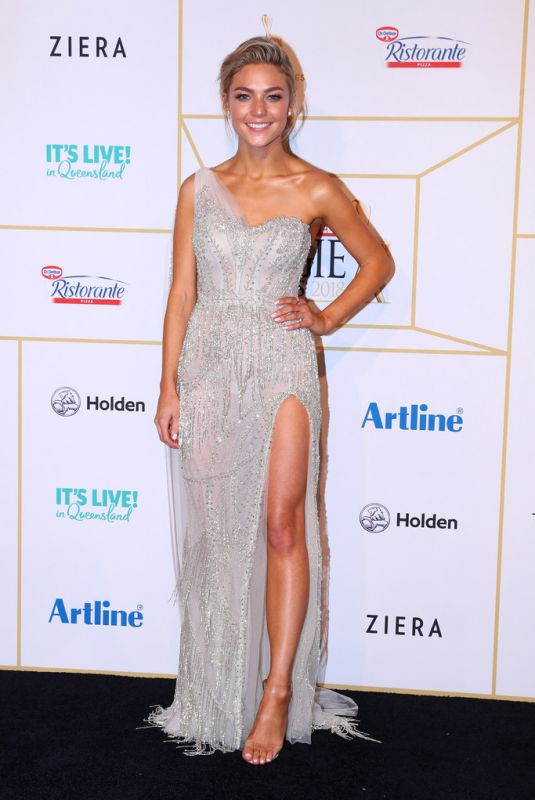 Sam Frost At 2018 Logie Awards in Gold Coast