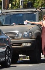 Scout Willis Gets a Parking Ticket in Los Angeles