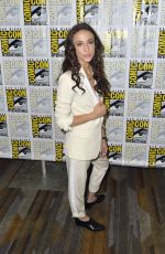 Stella Maeve At Comic-Con International 2018, press room for The Magicians in San Diego