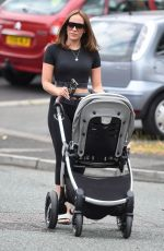 Stephanie Davis Out and about in Liverpool