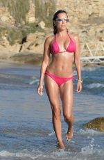 Sylvie Meis In bikini on the beach in Mykonos
