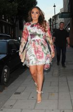 Tamara Ecclestone At C of London on Davies Street in Mayfair