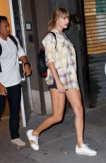Taylor Swift Has a late night at Electric Lady Studios after a day of recording in New York