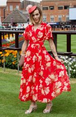 Victoria Pendleton At The Moet & Chandon July Festival, Day 1, Ladies Day, The July Course, Newmarket Racecourse, UK
