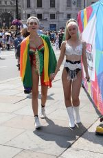 Wallis Day With Alice Chater at Pride London festival in London