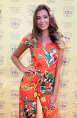Zara McDermott At TWG Tea Gala Event in Leicester Square to celebrate the launch of TWG Tea, London, UK