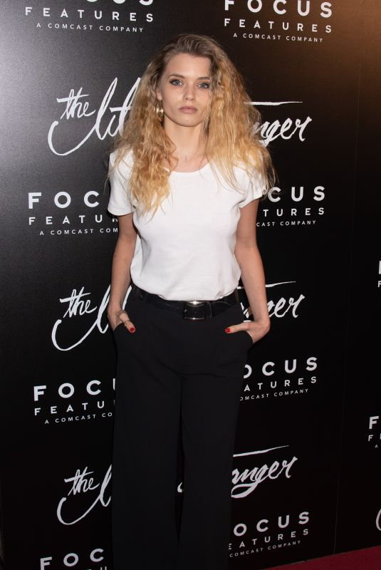 Abbey Lee Kershaw At New York Premiere of