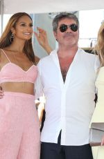 Alesha Dixon At Simon Cowell honored with a Star on the Hollywood Walk of Fame, Los Angeles