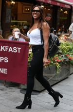 Alexandra Burke Out and about, London
