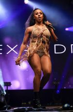 Alexandra Burke Performing at Pride in Manchester