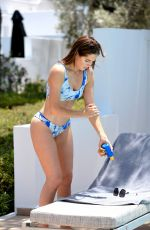 Alexandra Felstead Showing off her post baby body whilst on holiday in Greece