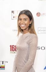Aliyah Moulden At 16th Annual 168 Film Festival held at Regal Cinemas L.A. LIVE 14 in Los Angeles