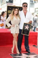 Ally Brooke At Simon Cowell honored with a Star on the Hollywood Walk of Fame, Los Angeles