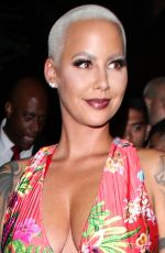 Amber Rose At Peppermint nightclub for her app launch party in West Hollywood