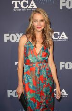 Amy Acker At FOX Summer All-Star Party, TCA Summer Press Tour, Los Angeles