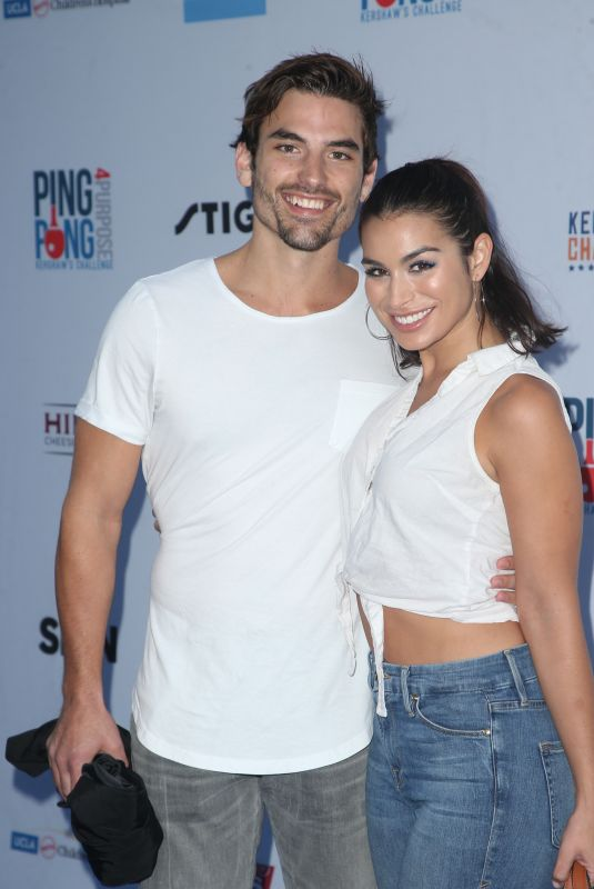Ashley Iaconetti At 6th Annual Ping Pong 4 Purpose, honoring the Just Keep Livin Foundation at Dodger Stadium, Los Angeles