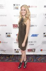 Ashley Seal At 16th Annual 168 Film Festival held at Regal Cinemas L.A. LIVE 14 in Los Angeles