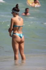 Aurora Ramazzotti Relaxes by the beach in Miami