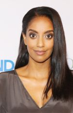 Azie Tesfai At A Benefit for Kids In Need Of Defense (KIND), Culver City