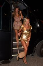 Billie Faiers, Sam Faiers and Ferne McCann Heading out for a night out in Ibiza