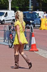 Britney Spears At Buckingham Palace in London