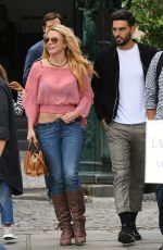 Britney Spears Out and about in Paris