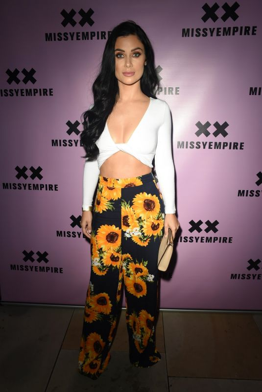 Cally Jane Beech At the Missy Empire Fashion party at Menagerie in Manchester