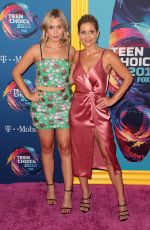 Candace Cameron Bure & Natasha Bure At Teen Choice Awards 2018 at The Forum in Beverly Hills