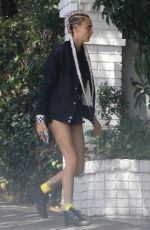 Cara Delevingne Heading to a meeting in Los Angeles