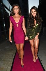 Charlotte Dawson Leaving The Spice Girls Exhibition in Manchester