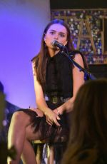 Charlotte Lawrence At An evening with David Spade to benefit